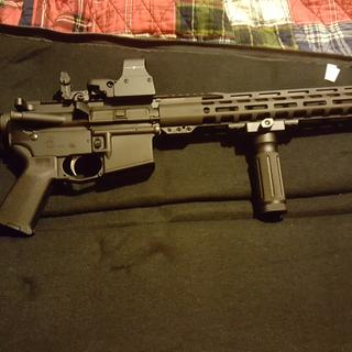 Also added a Sightmark relfex..