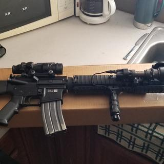 M16A4 clone complete with this upper.