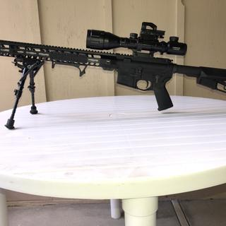 "PSA upper and lower with 18"" Wylde .223 barrel"