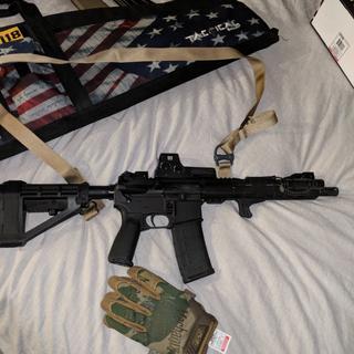 BCM KAG, BCM pistol grip, eotech, flashlight