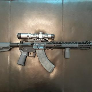 Magpul furniture and a Primary Arms scope