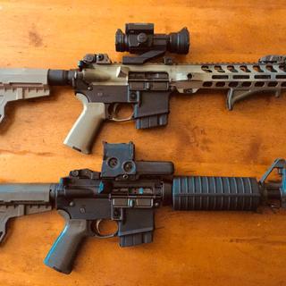 PSA AR-15 Complete MOE EPT Shockwave Pistol Lower, OD Green - No Magazine