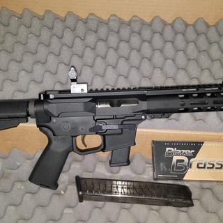 Retracted with Glock mag