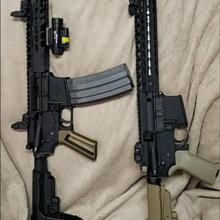 Same kits. One in FDE and one in BLACK