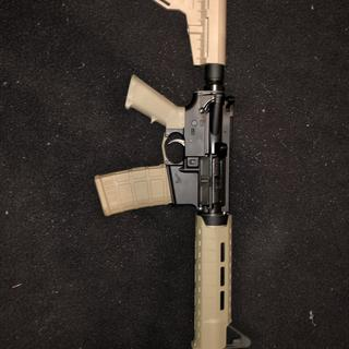 Exactly what I expected! Built on Aero Precision lower. Magpul SL hand guard