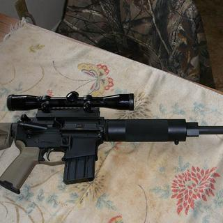 Pinned to my .450 Bushmaster upper.