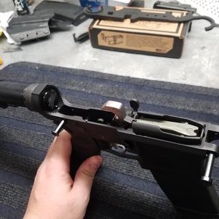 Internal trigger parts and springs fit well with no issues during the install.