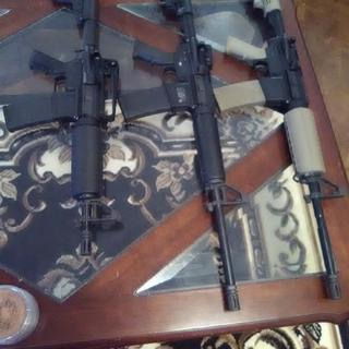 palmetto ar pistol 10.5 inch s&w M&P 15 and the dark earth kit