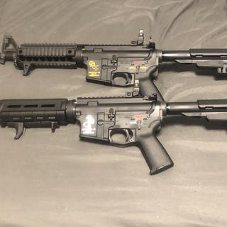 Two pistol builds. So far so good.