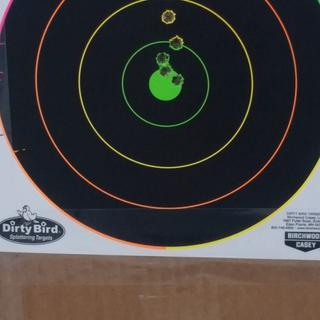 After break in. 100 yrds over the hood of the truck with the 6.5 grendel pistol.