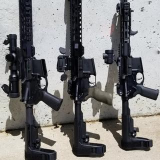 """My father and I both have the 10.5"""" 556 pistol kits.  They've been 100%. Guns need 200rnds to brk-in"""