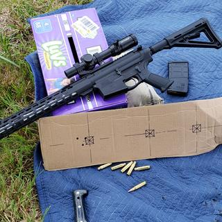 shots 3-5 through this just completed rifle