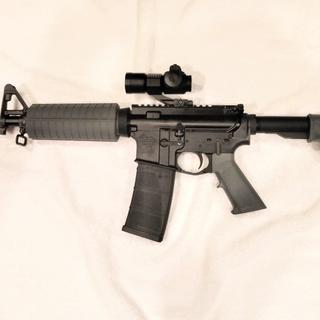 What a great rifle, I can't say enough about the value of this kit. It has been 100% reliable.