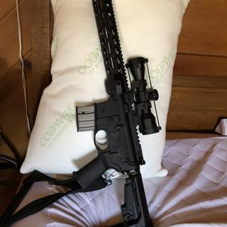 Great light compact and accurate. Recommended fun caliber fit well with the sba 3 brace kit