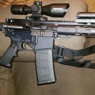 Slip2000 lube test on ar pistol