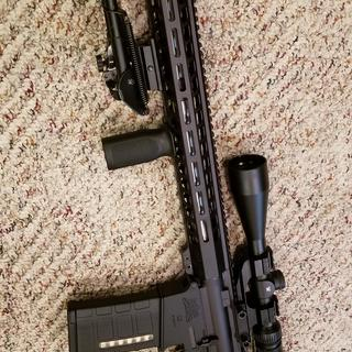 So far this rifle has run 600 rounds or so without a single hiccup. 😁