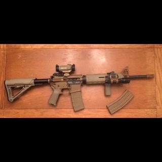 PSA AR-15 Complete Lower Magpul MOE EPT Edition - Flat Dark Earth, No  Magazine