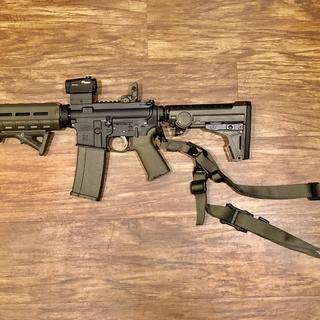 Started as an OD green pistol kit then I kept adding extras.