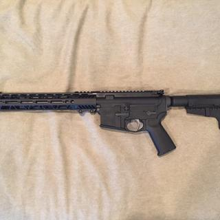 1728 lower, 516448746 upper pistol kit. All parts fit as they should. Great price for a AR pistol.