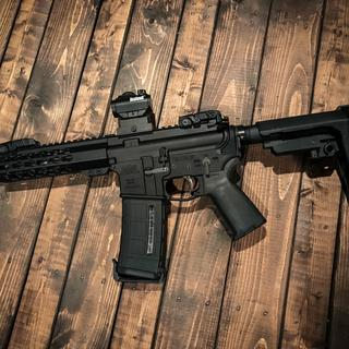 🇺🇸💥💥💥 Freedom! 7.5 Ar15 build. PSA lower, MOE, EPT and SBA3. Great quality and fast shipping!👍