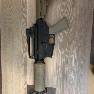 Before and after (kit + magpul furniture upgrade)