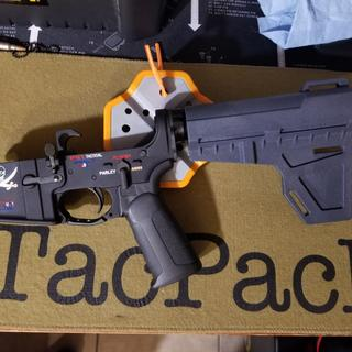 Lower parts kit on spike's tactical lower.