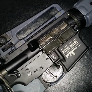 PSA #ONEMORE lower, PSA complete upper with PSA Nickel Boring BCG and PSA carry handle.
