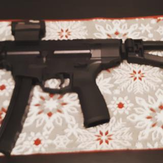 NEW FRONTIER ARMORY CS-5PDW with sig romeo and triangular brace
