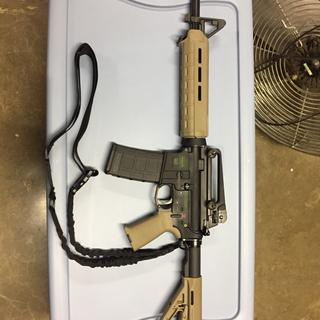 Paired with PSA Safe/Fire lower and PSA carry handle. Went together beautifully,
