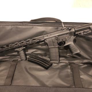 "PSA 16"" Mid-Length 5.56 NATO 1/7 Nitride Freedom Rifle, Olive Drab Green"