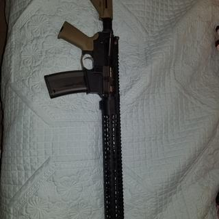 My Colt Socum competition barreled upper  wheres the FDE nicely