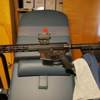 My AR 9mm Pistol
