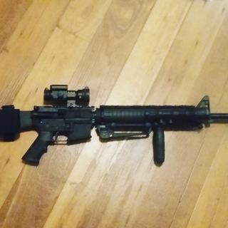 PDA Freedom, built as M16A4  inspired rifle