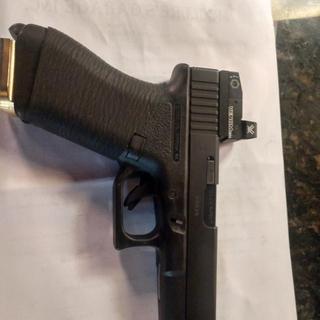 Put it on my Glock Gen 1 works freat