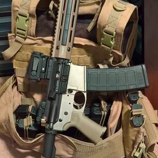 """10.5"""" piston pistol"""