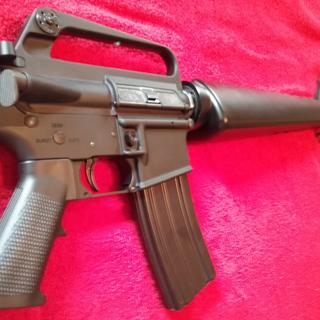 Put A1 receiver and triangle handguards on it.