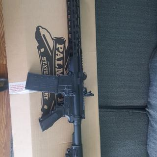 Complete Palmetto state AR15 build.