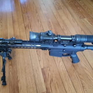 Sightmark Photon 4.6 Night Vision Scope on PSA Gen2 PA-10 Dedicated Night Vision Rifle