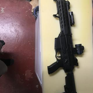 Sig 556 xi just used brace so far but the build kit will go in a pistol 300 blackout!