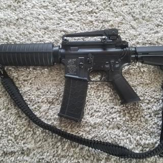 "PSA 10.5"" 5.56 NATO 1/7 Nitride Classic Shockwave Pistol Kit with a Franklin Armory BFSIII installed"