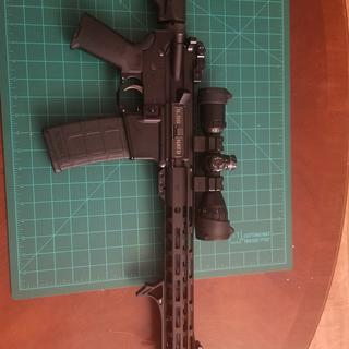 My AR 15 setup