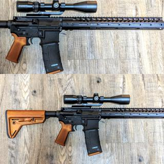 Good price on a nice setup.  Upper runs clean and flawlessly.  Changed the handguard
