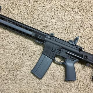Fantastic upper & a great value. Completed build with a PSA lower, Maxim brace &  MBUS gray sights.