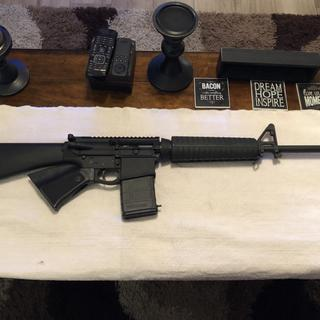Just waiting for optics to go to the range and break this bad boy in.