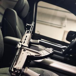 Zhukov folding stock is great, as I keep my rifle in my truck usually