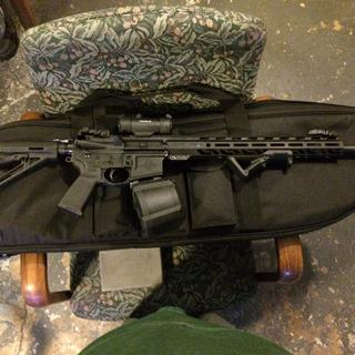 """Oh so sexy! 20"""" PSA upper as well."""
