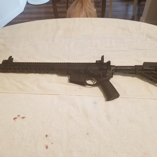 Finished assembled rifle