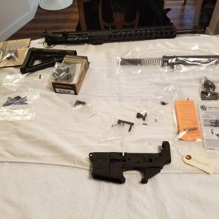 Parts kit all broken down