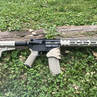 Shockwave Blade on my 300 blackout with 10.5in barrel.
