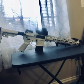 Storm trooper themed rattle can paint job